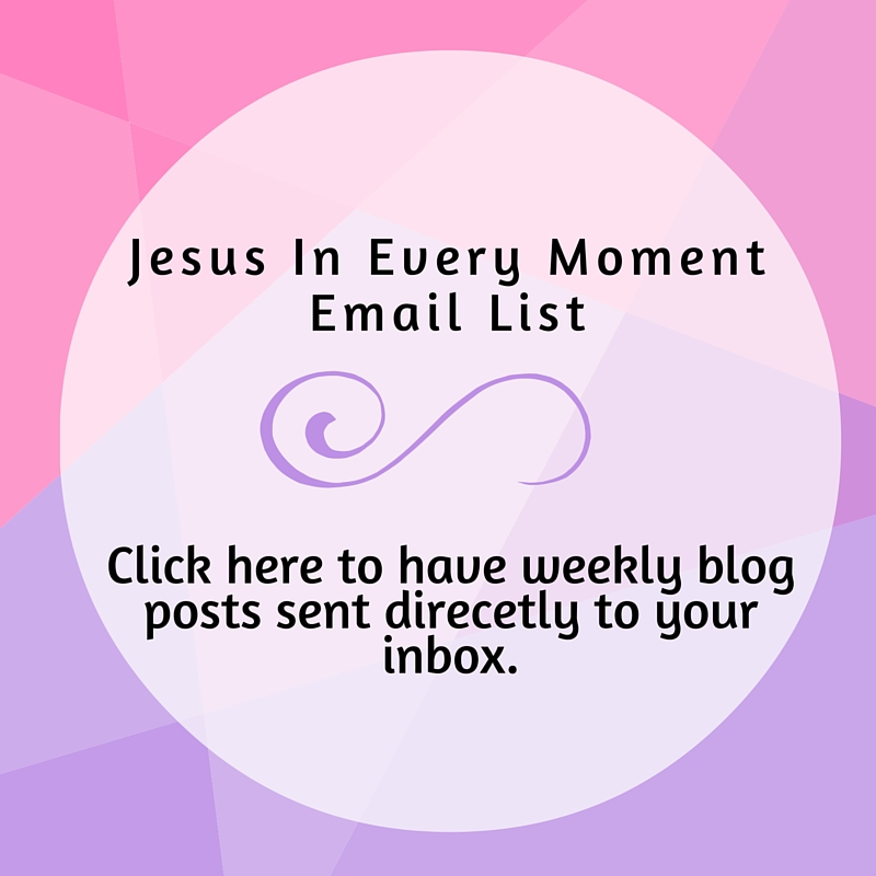 Blog Jesus In Every Moment Emily Furda